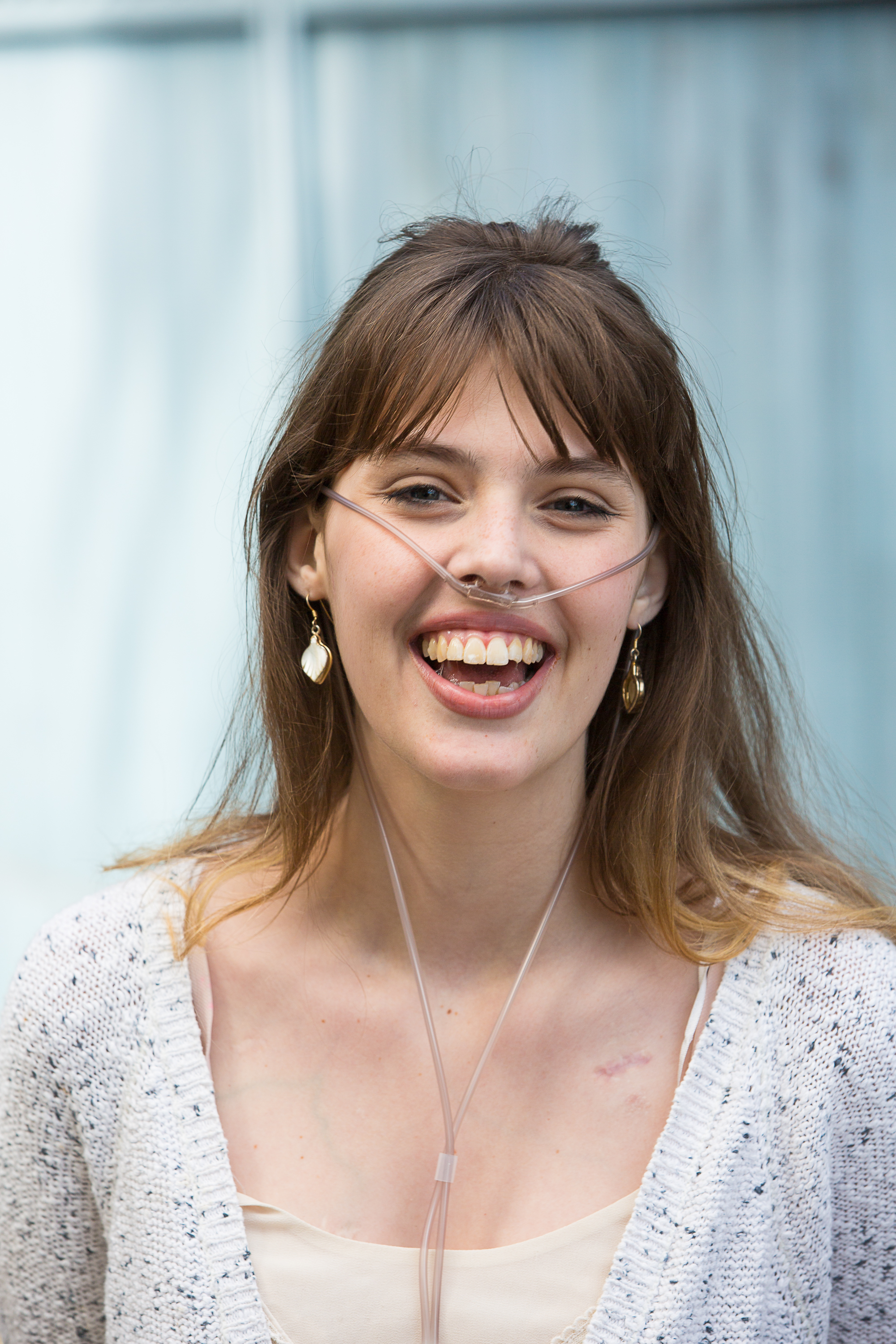 Celebrity with cystic fibrosis