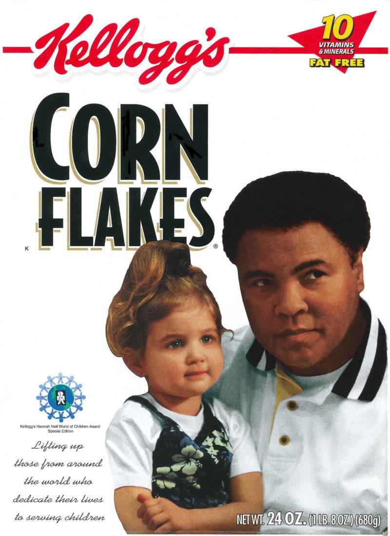 Mohammad Ali Corn Flakes Box
