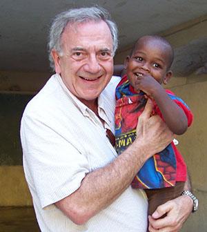 Harry Leibowitz in Haiti