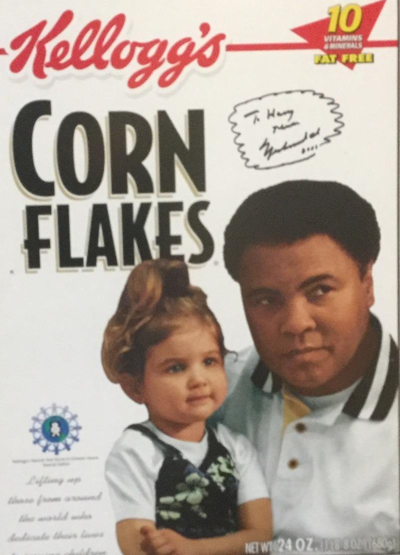 Muhammad Ali Cereal Box